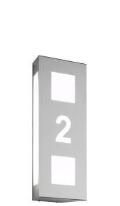 CMD Wandleuchte mit Hausnummer 26/HN