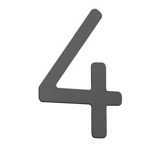 CMD Hausnummer klein anthrazit 4