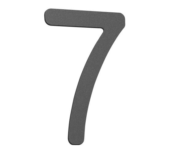 CMD Hausnummer klein 7 anthrazit