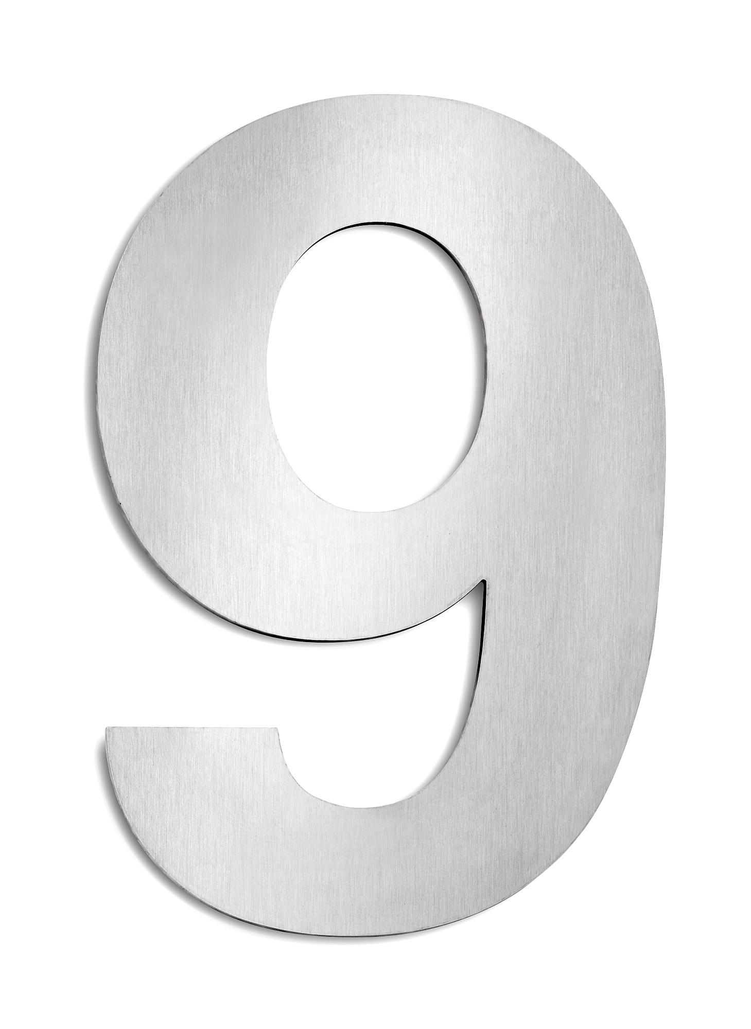 CMD Hausnummer groß 9