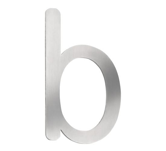 CMD Hausnummer klein b