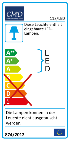 EEK Label 118/LED