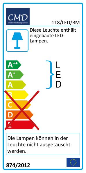 EEK Label 118/LED/BM