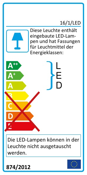 EEK Label 16/3/LED