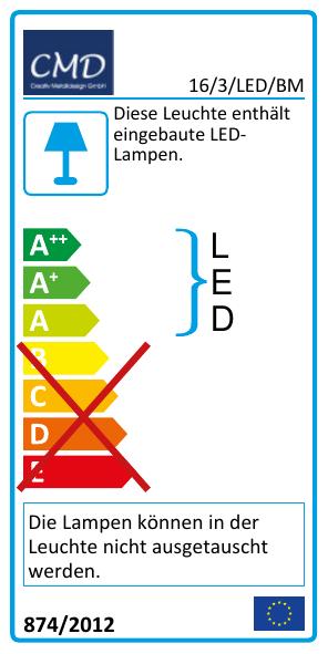 EEK Label 16/3/LED/BM