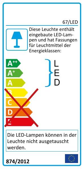 EEK Label 67/LED