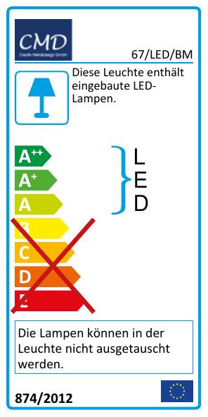 EEK Label 67/LED/BM
